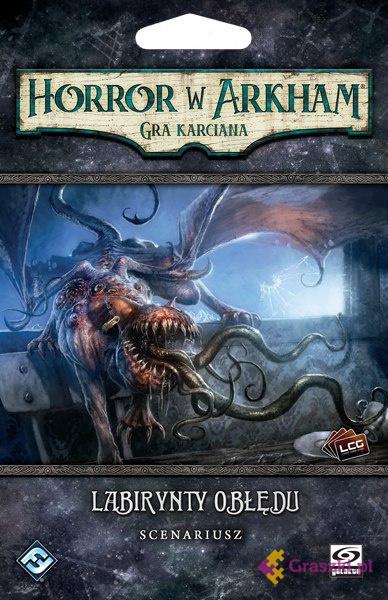 Horror w Arkham: Gra karciana - Labirynty obłędu | Galakta // darmowa dostawa od 249.99 zł // wysyłka do 24 godzin! // odbiór osobisty w Opolu
